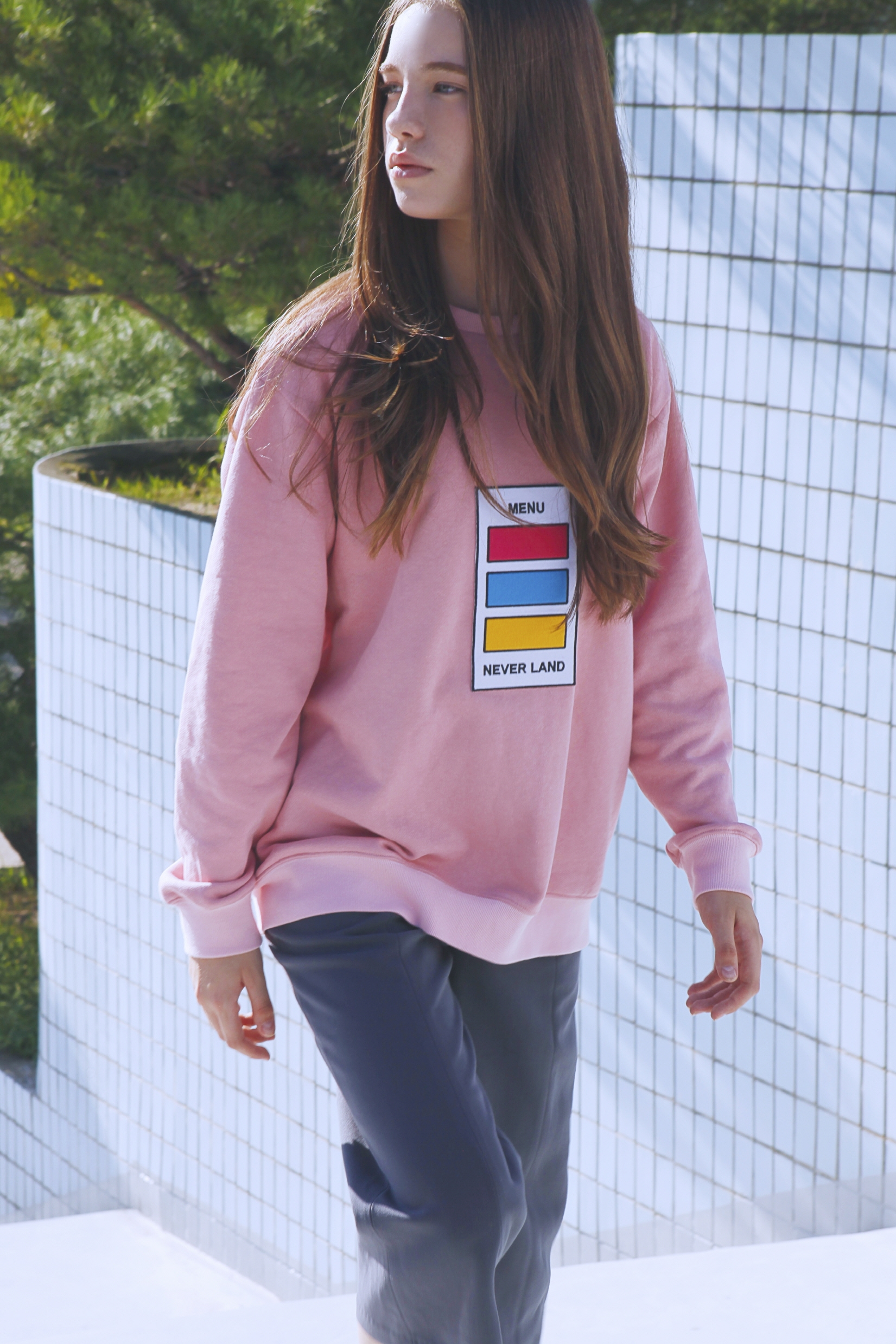 color chip sweatshirt