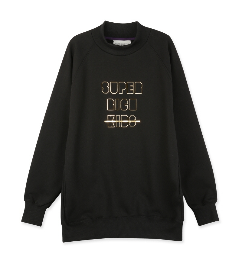 [16S/S] SUPER RICH KIDS SWEATSHIRT BLACK