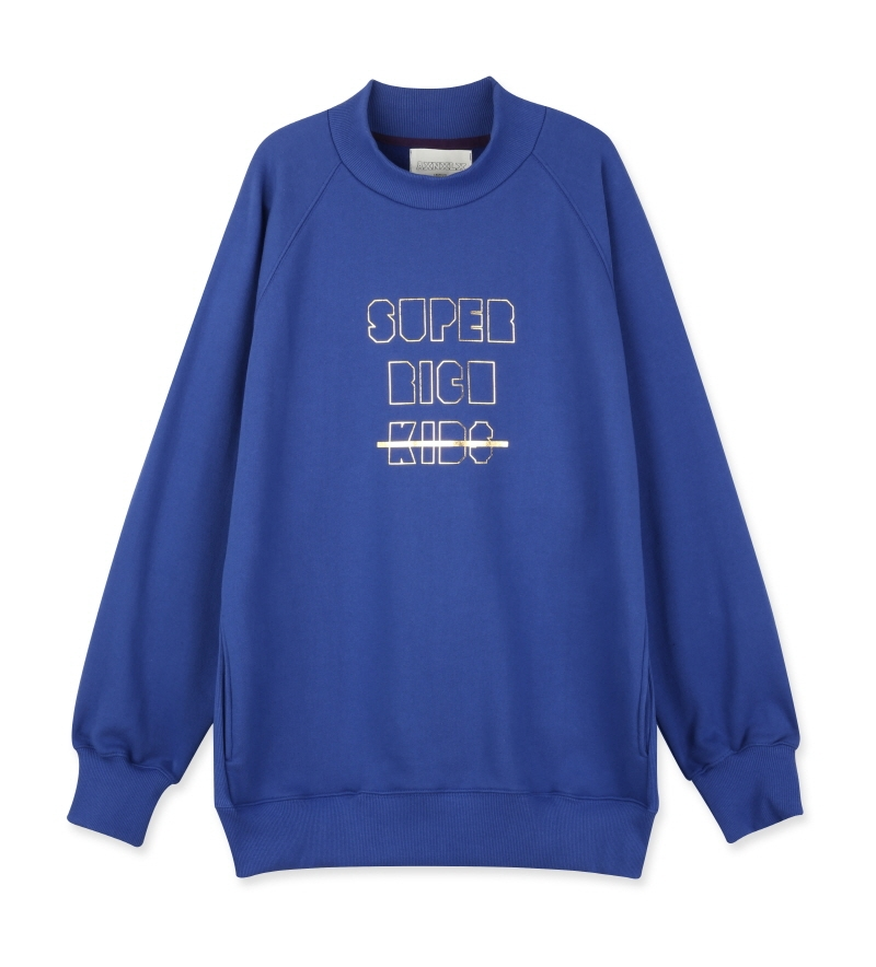 [16S/S] SUPER RICH KIDS SWEATSHIRT BLUE