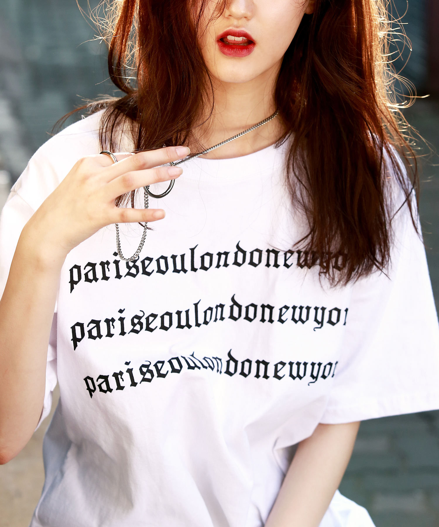 [4차입고완료]psln half sleeve T-shirt (WHITE)