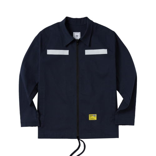 PSLN SYNC HARRINGTON JACKET NAVY