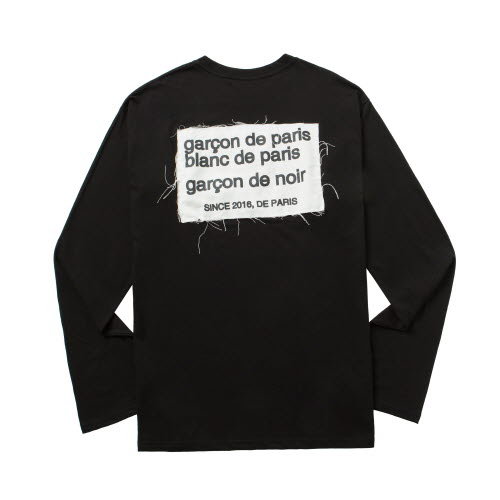 [품절]De paris longsleeve black
